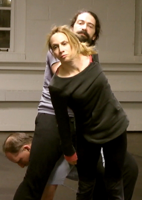 Eliza Talbott as Persephone and Malcolm Shute as Hades in Persephone and Demeter